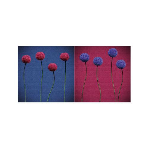 ARTİKEL Lovesongs 2 Parça Kanvas Tablo 80x40 cm KS-536