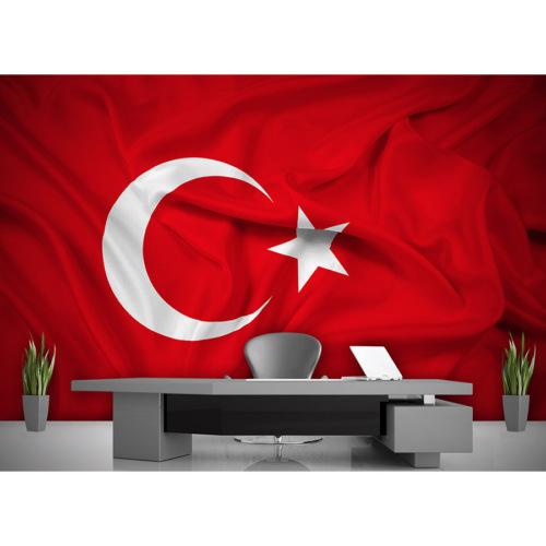 Artmodel Türk Bayrağı Poster Duvar Kağıdı PDA-14