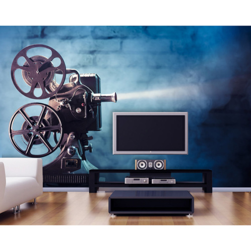 Artmodel Sinema Makinası Poster Duvar Kağıdı PDA-12