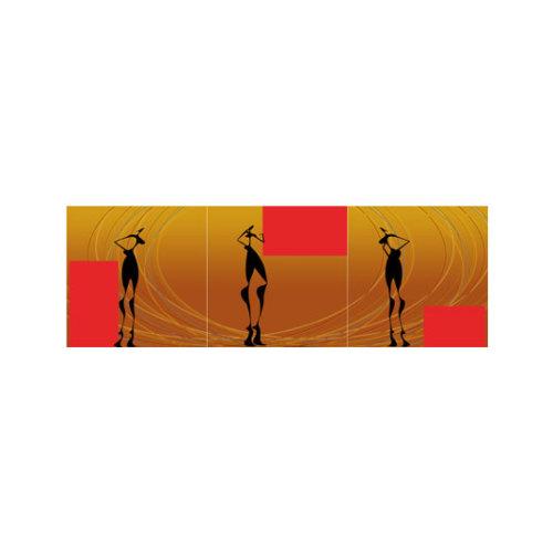 ARTİKEL Water Dancing 3 Parça Kanvas Tablo 40X120 Cm KS-741