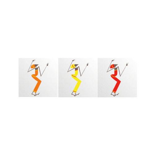 ARTİKEL Dancing Ladies 3 Parça Kanvas Tablo 40X120 Cm KS-742