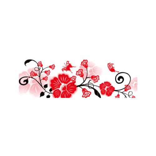 ARTİKEL Decorative Flowers 3 Parça Kanvas Tablo 40X120 Cm KS-748