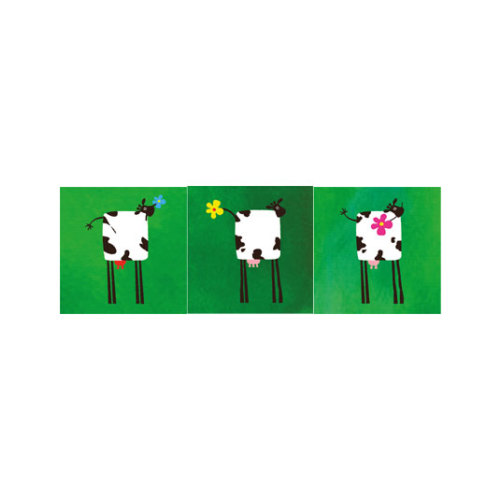 ARTİKEL Green Life 3 Parça Kanvas Tablo 40X120 Cm KS-754