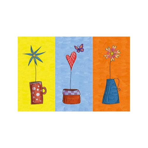 ARTİKEL Three Colors 3 Parça Kanvas Tablo 70X90 Cm KS-564