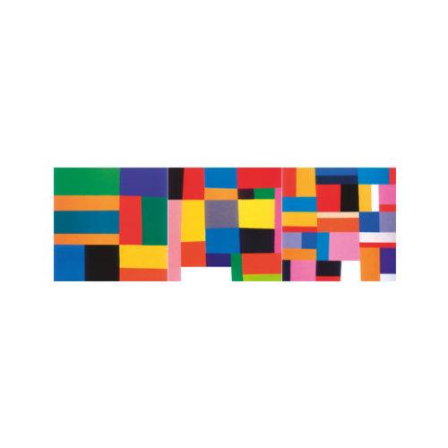 ARTİKEL Geronimo 3 Parça Kanvas Tablo 40X120 Cm KS-712