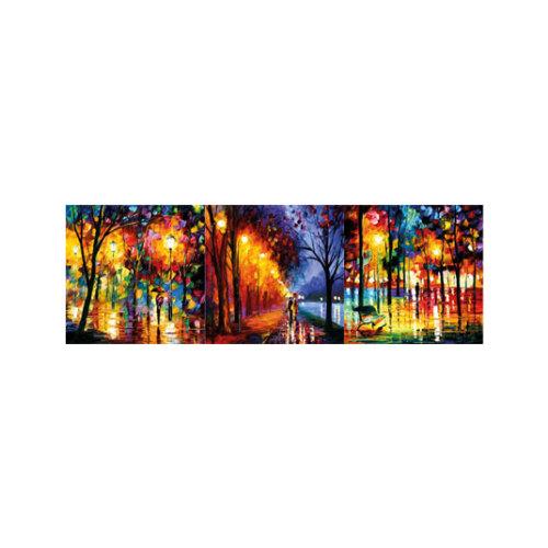 ARTİKEL Romantic Rain 3 Parça Kanvas Tablo 40X120 Cm KS-765