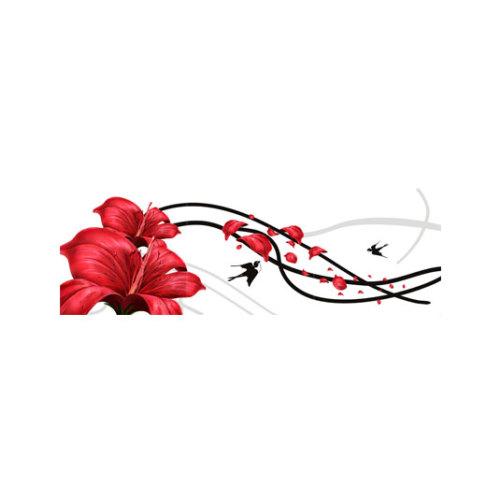 ARTİKEL Floral Effect 3 Parça Kanvas Tablo 40X120 Cm KS-292