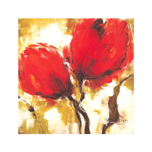ARTİKEL Red Forest-2 4 Parça Kanvas Tablo 70x70 cm KS-174