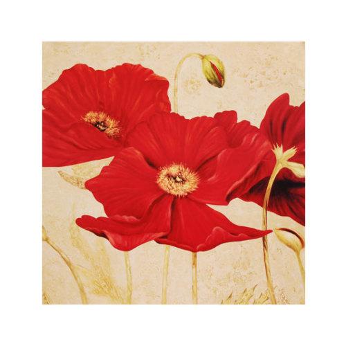 ARTİKEL Famous Red 4 Parça Kanvas Tablo 70x70 cm KS-165