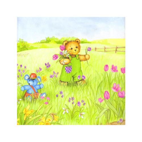 ARTİKEL Cartoon Life 4 Parça Kanvas Tablo 70x70 cm KS-545