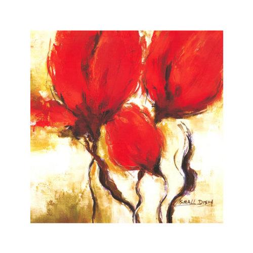 ARTİKEL Red Forest 4 Parça Kanvas Tablo 70x70 cm KS-175