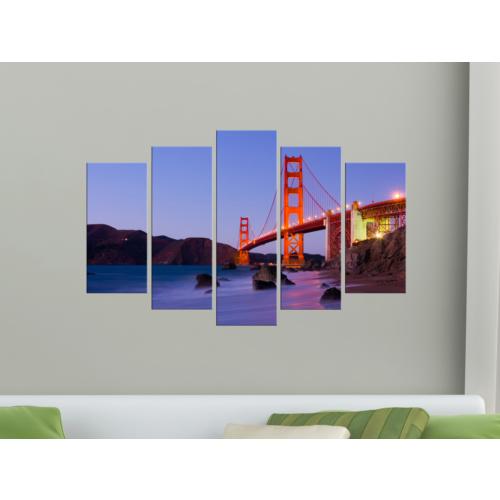 K Dekorasyon Köprü 5 Parçalı Mdf Tablo KM-5P 2100