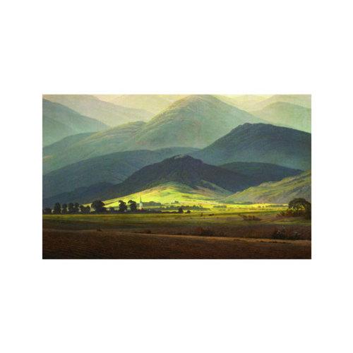 ARTİKEL Quiet Mountains 5 Parça Kanvas Tablo 135x85 cm KS-335