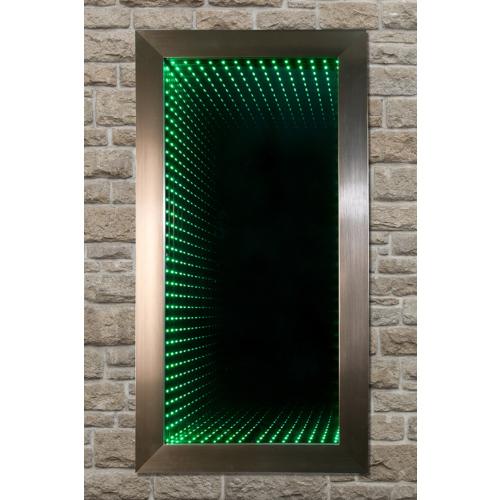Mavi Dizayn Tünel Işıklı Sonsuz Ayna 50x70 cm