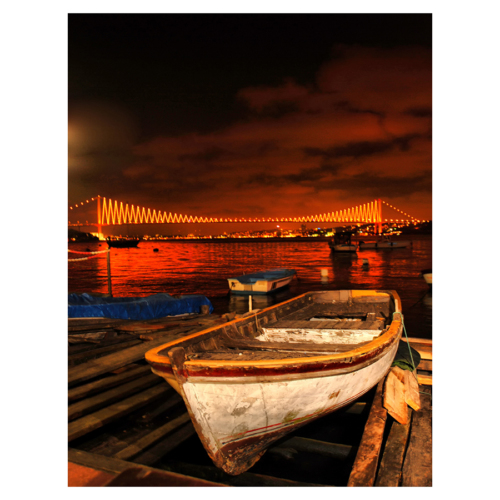 Duvar Tasarım City & Mix Led Canvas 50X70cm Dlc 1251 Ledli Tablo