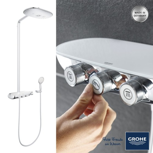 grohe rainshower system smartcontrol 360 duo fiyat. Black Bedroom Furniture Sets. Home Design Ideas