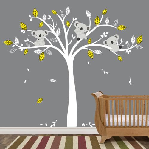 Besta Beyaz Ağaç Duvar Sticker