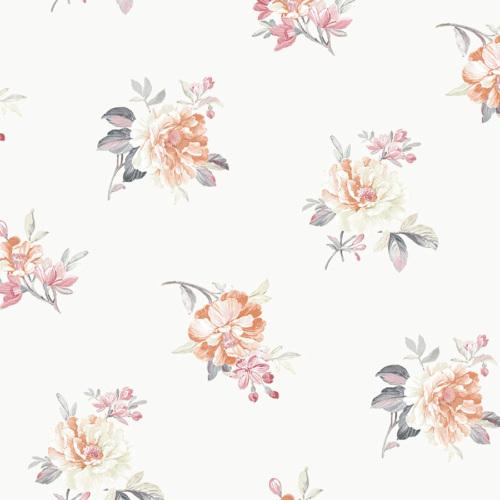 Mot Çiçekli Duvar Kağıdı 10-004703