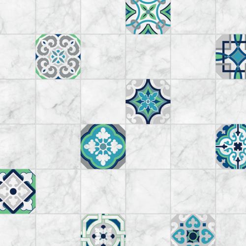 Mot Mutfak Duvar Kağıdı 10-019203