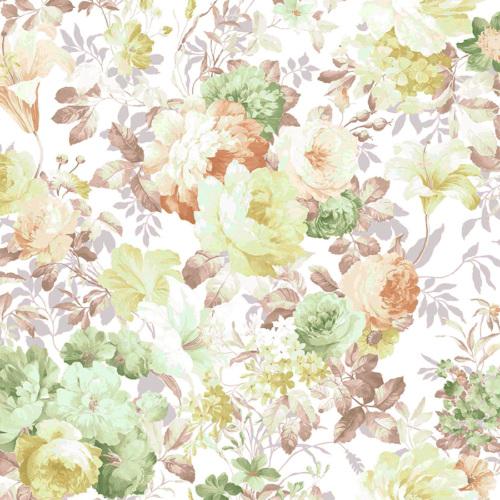 Mot Çiçekli Duvar Kağıdı 10-004303