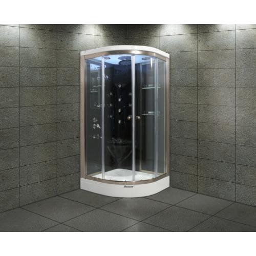 Shower Aqua SW-2249 SİSTEM 3 SİYAH