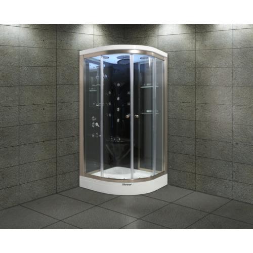 Shower Aqua SW-2251 SİSTEM 4 SİYAH