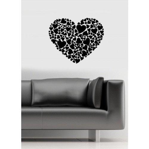Özgül Grup Özgül Grup Kalp Duvar Sticker | 60x50 cm