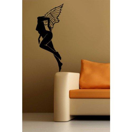 Özgül Grup Özgül Grup Kanatlı Kadın Duvar Sticker | 29x70 cm