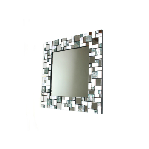 Kanca Ev Sedef Ayna Geometrik Desen-8
