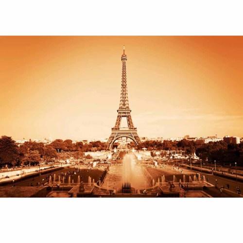 Innova Eiffel Tower 50X70 Cm Cam Tablo