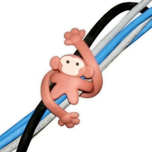 BuldumBuldum Fun Cable Ties - Kablo Düzenleyici Hayvancıklar - Porsuk