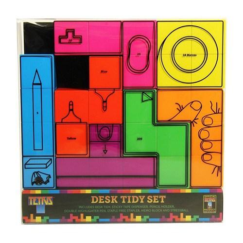 BuldumBuldum Tetris Desk Tidy Set - Tetris Masa Düzenleyici Set - Kalem Seti