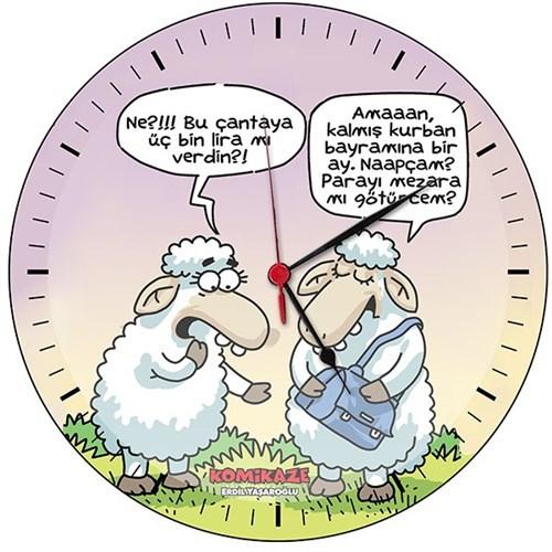 BuldumBuldum Bayramlıklar - Koyunlar Alışverişte Magnet