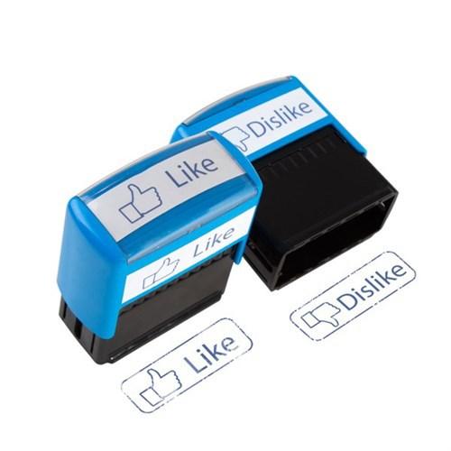 BuldumBuldum The Like Stamps- Beğen Damgaları - Like & Dislike 2Li Set