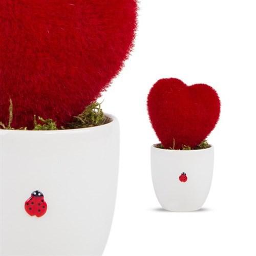 BuldumBuldum Sevgililer Günü Hediyesi Kalp Yapay Çiçek