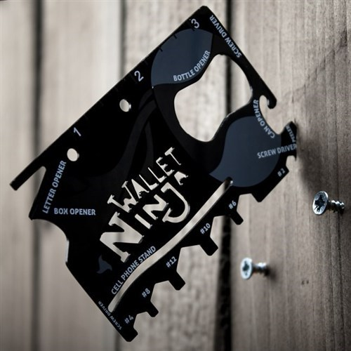BuldumBuldum Ninja Wallet 18 İn 1 Multi Tool Kit - Ninja Çakı