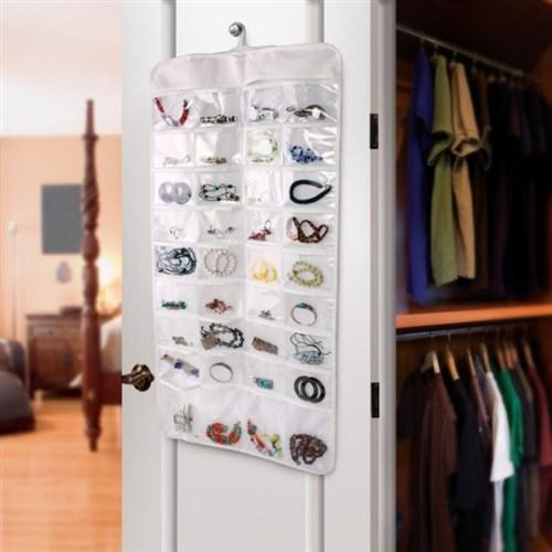 BuldumBuldum Hanging Jewelry Organizer - 72'Li Takı Organizeri
