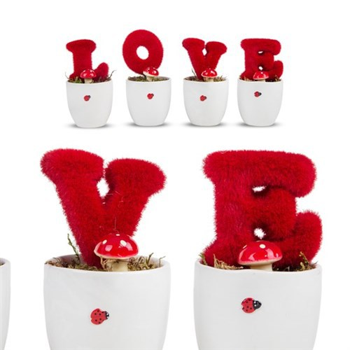 BuldumBuldum Love Yapay Çiçek Seti