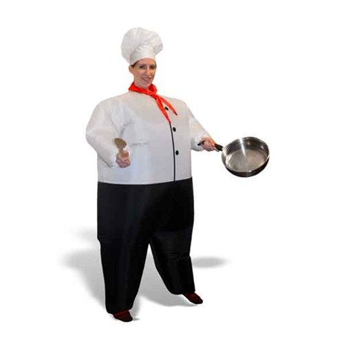 BuldumBuldum Inflatable-Chef Costume - Şişme Aşçı Kostümü