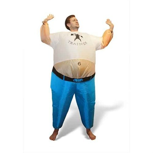 BuldumBuldum Inflatable-Personal Trainer Costume - Şişme Spor Hocası Kostümü