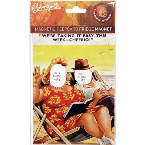 BuldumBuldum Bamforth Magnetic Peepcard - Biz Plajdayken Magneti