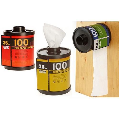 BuldumBuldum Camera Roll Tissue Box - Fotoğraf Filmi Peçetelik