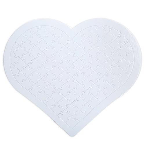 BuldumBuldum Kendin Tasarla - 97 Parça Kalp Puzzle
