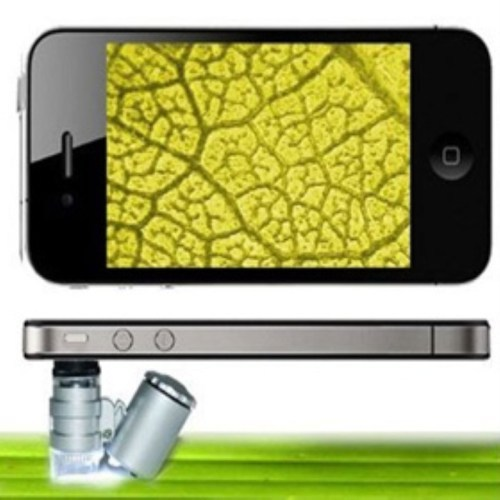 BuldumBuldum Mini Microscope - Mini İphone Mikroskobu