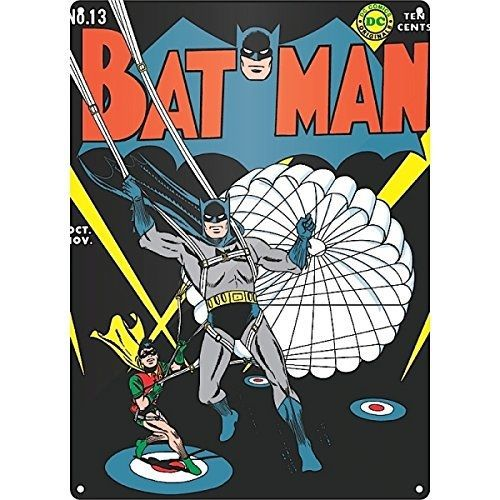 Half Moon Bay Batman Parachute Metal Duvar Levhası