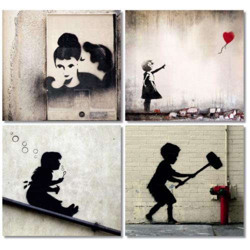 Fotocron Wall Art 4'lü Tablo