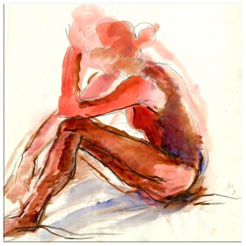 Arte Yalnızlık Kanvas Tablo