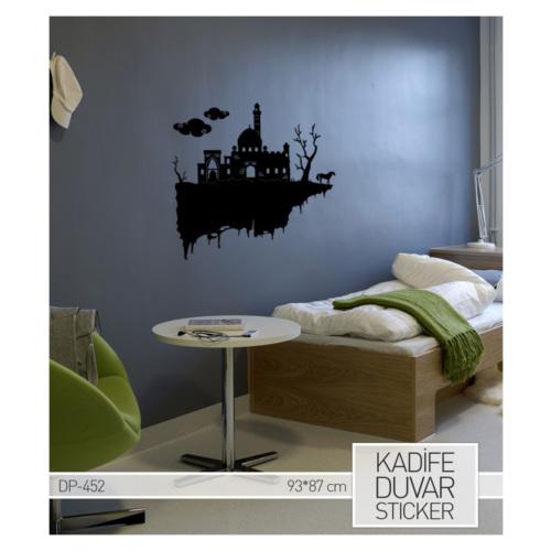 Artikel İshak Paşa Sarayı Kadife Duvar Sticker 87x93 cm DP 452