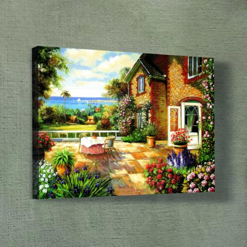 Artikel Summer House Kanvas Tablo