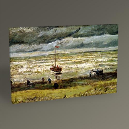 Tablo360 Vincent Van Gogh Scheveningen Sahili 45 x 30
